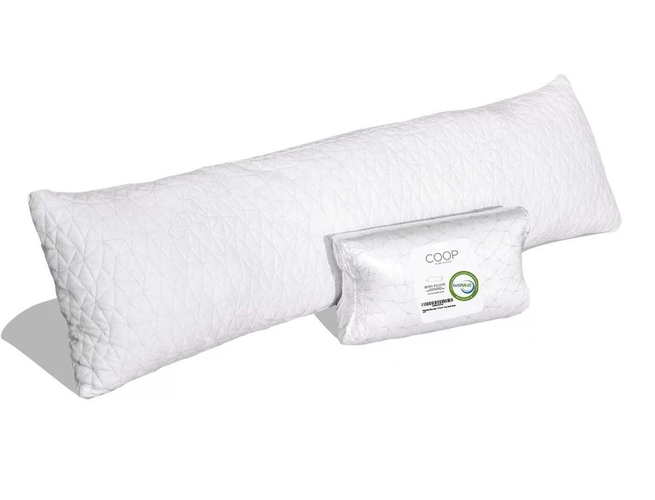 shredded memory foam body medium support pillow