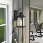 Laurel Foundry Modern Farmhouse Halcott Outdoor Wall Lantern Reviews Wayfair