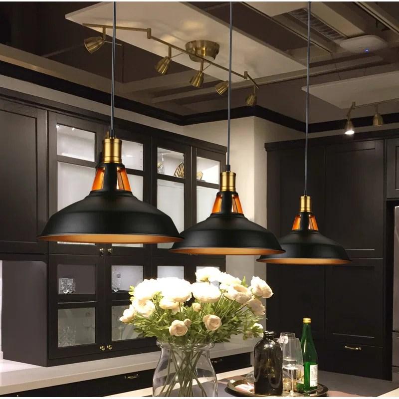 luminaire suspendu en dome 1 lumiere pour ilot de cuisine fehr