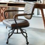 Dubois Genuine Leather Task Chair Reviews Joss Main