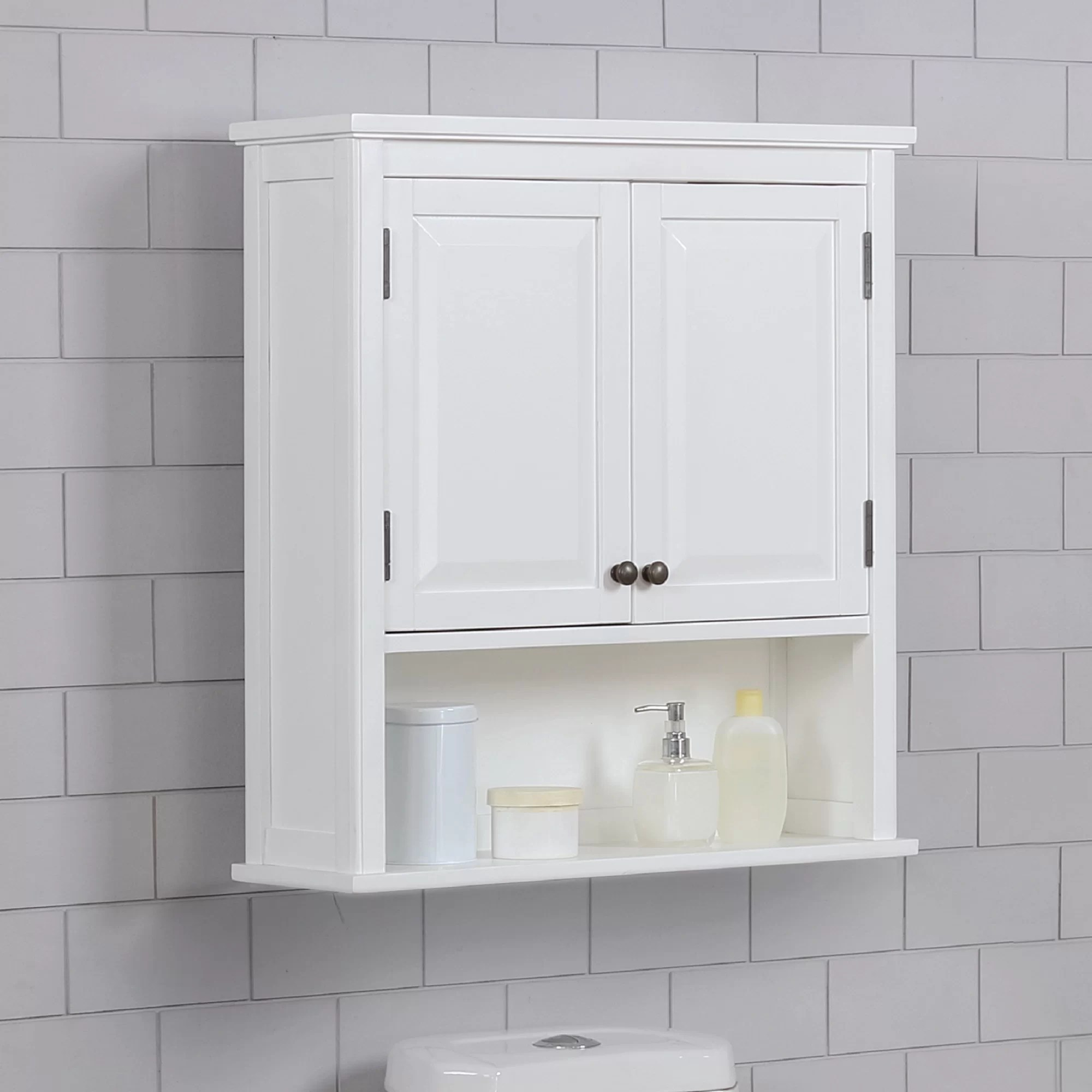 Highland Dunes Carruthers 27 W X 29 H X 9 D Wall Mounted Bathroom Cabinet Reviews