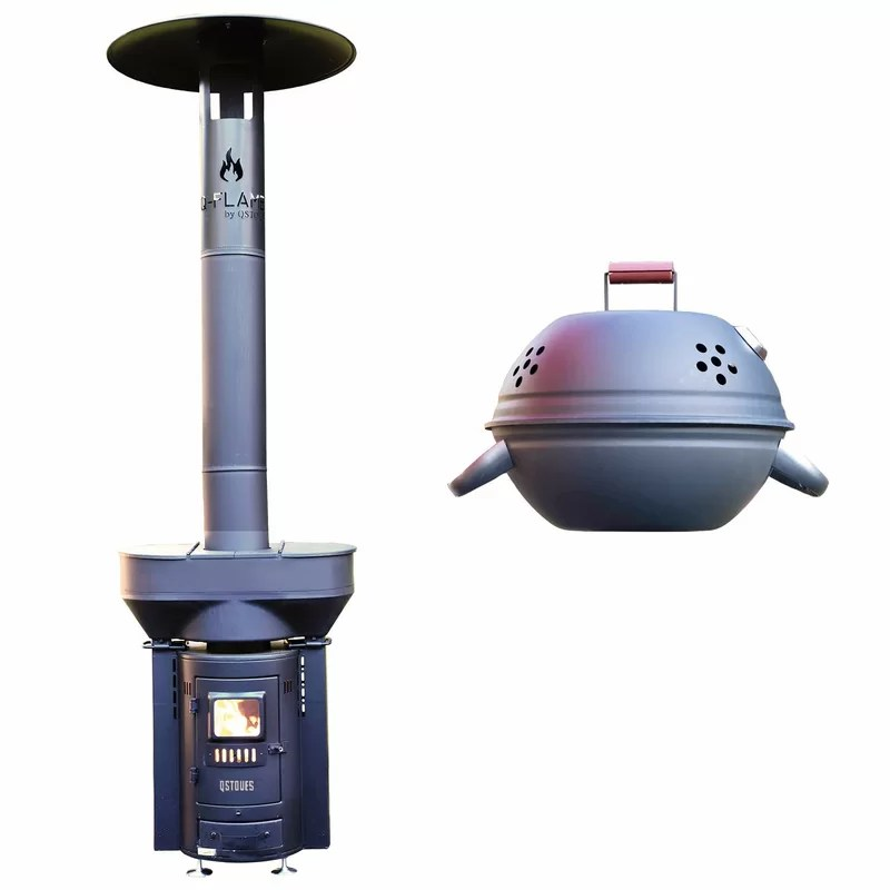 outdoor 100 000 btu wood pellets patio heater
