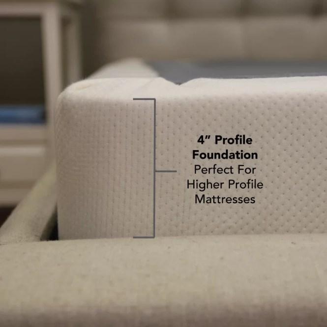 Low Profile Wood Mattress Foundation