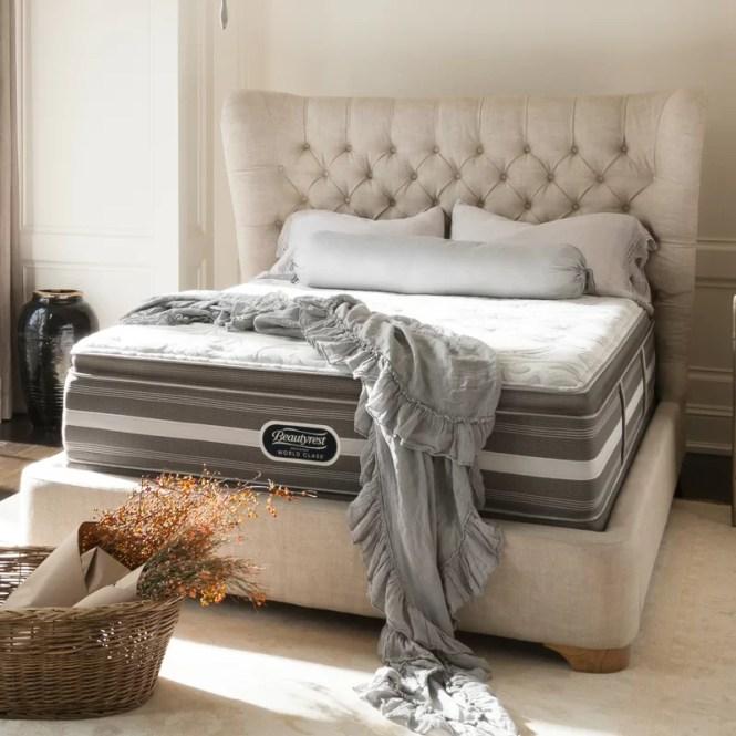 Beautyrest Recharge 14 5 Plush Aircool Memory Foam Mattress