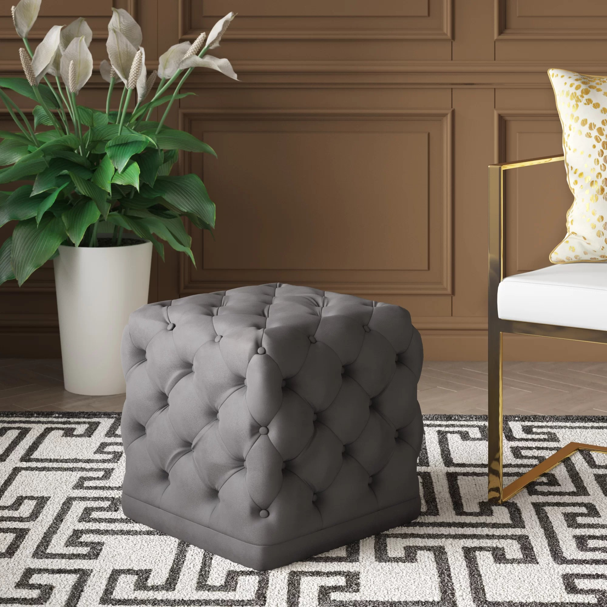 small ottomans free shipping over 35
