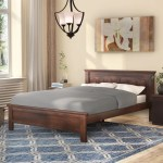 Winston Porter Burgin Solid Wood Platform Bed Reviews Wayfair