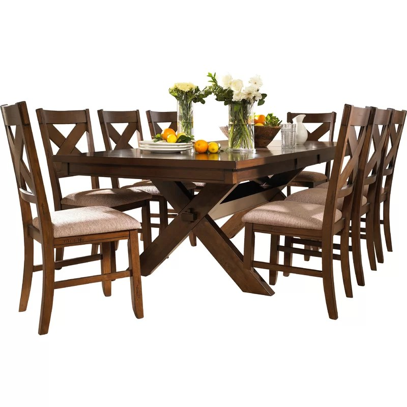 Isabell Extendable Solid Wood Dining Set