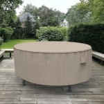 Arlmont Co Miguel Round Patio Table Cover Reviews