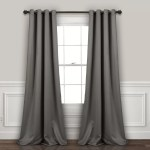 120 Inch Gray And Silver Curtains Drapes You Ll Love In 2020 Wayfair