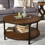 Round Coffee Tables You Ll Love In 2020 Wayfair