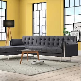 zoey sleeper sectional