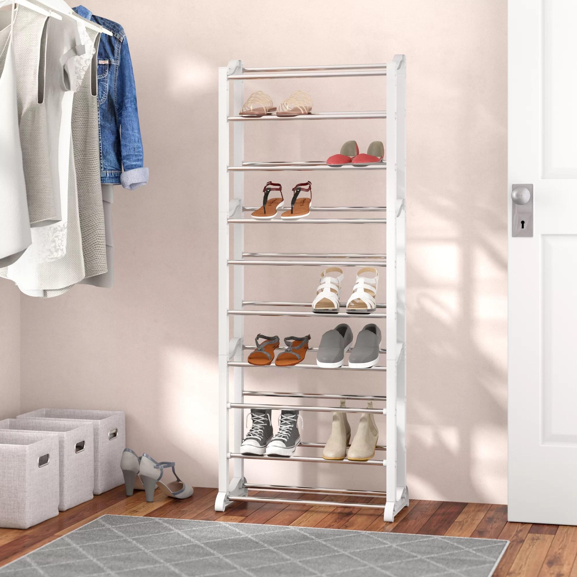 lynk 30 pair shoe rack
