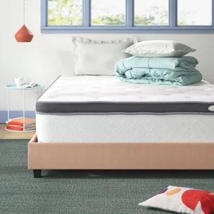 wayfair sleep 13 plush pillow top innerspring mattress