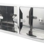 Preferredbathaccessories Recessed Double Wall Mount Toilet Paper Holder Wayfair