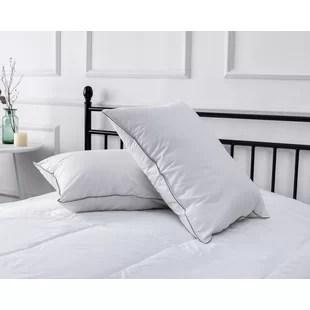 dawkins sleep supreme medium polyester bed pillow set of 2