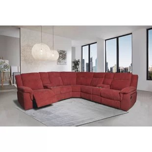 motion 95 symmetrical reclining sectional