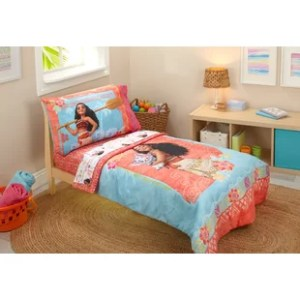Moana   Wayfair Moana 4 Piece Toddler Bedding Set