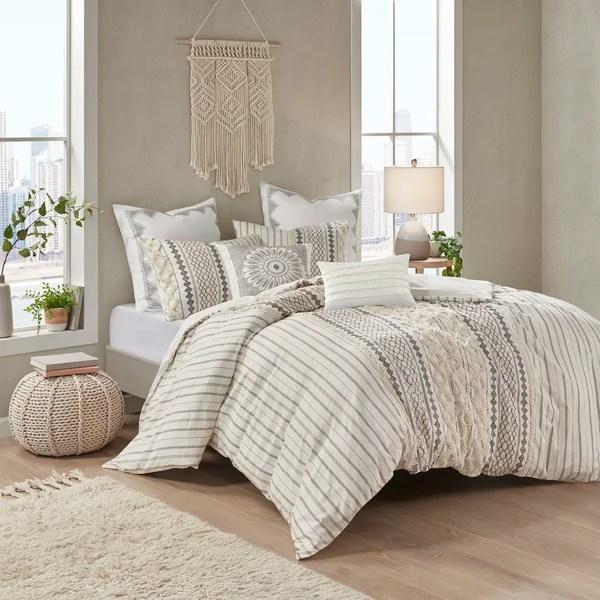 modern contemporary 10 piece comforter set