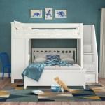 Kids Bunk Beds With Desks Wayfair
