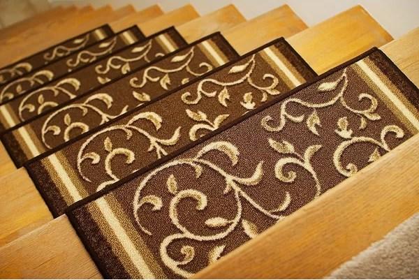 Carpet Treads Wayfair | Stairs With Carpet Treads | Oak | Semi Circle | Outdoor Carpet | Laminate | Turquoise