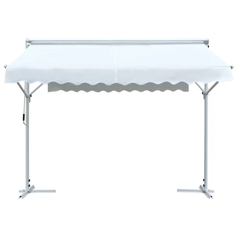 shanitaortia free standing w 3 x d 3m retractable patio awning