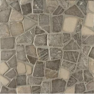 River Rock Floor Tile   Wayfair Pebble Rock Random Sized Stone Pebble Tile in Rumah