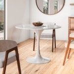 Jocelyn Artificial Marble Dining Table Reviews