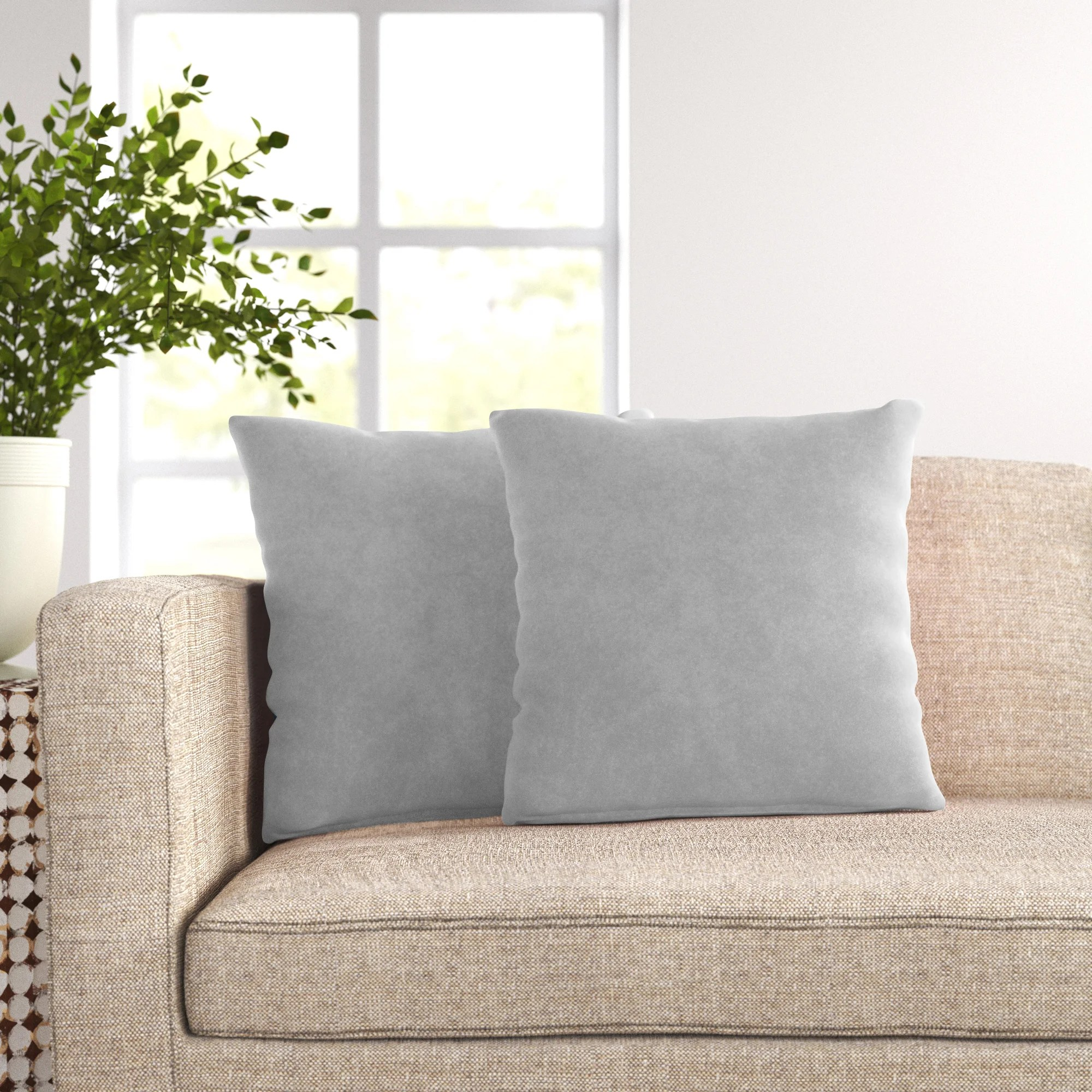 kager throw pillow cover