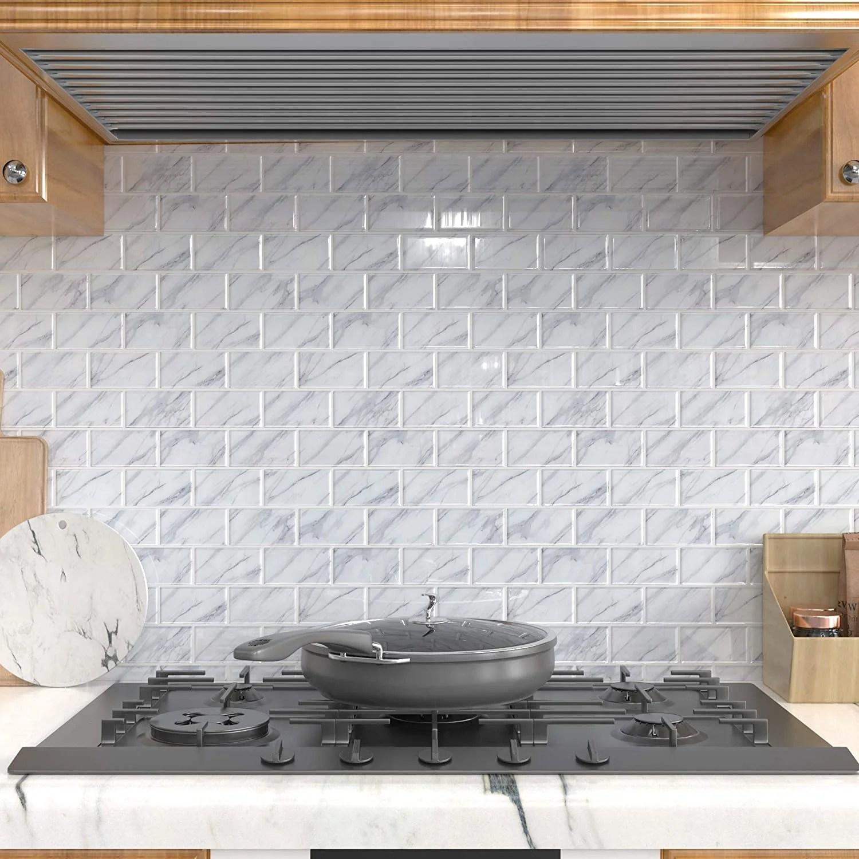 how to diy subway tile backsplash