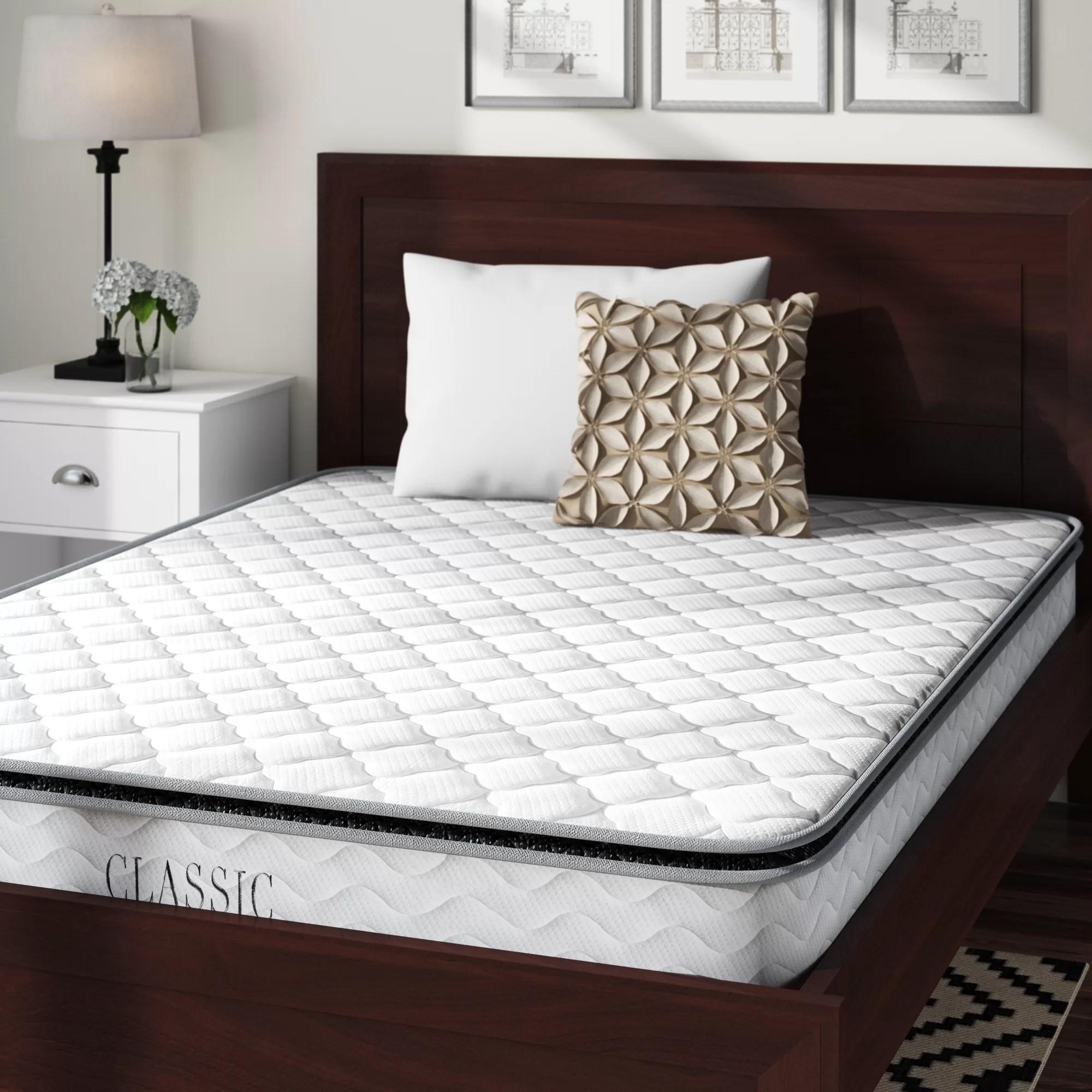 alwyn home 10 medium pillow top mattress
