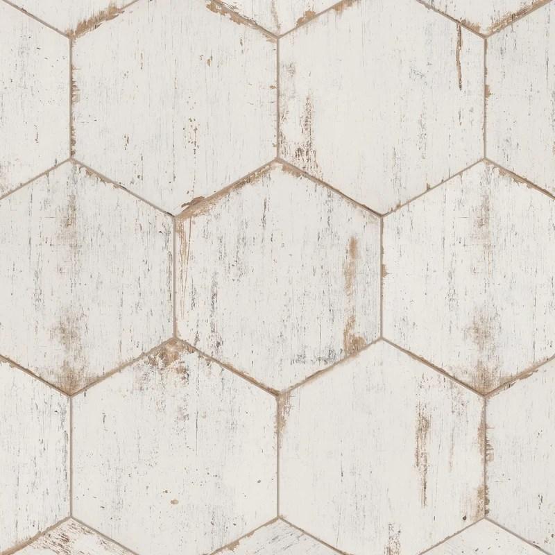 rama 14 x 16 porcelain honeycomb mosaic wall floor tile
