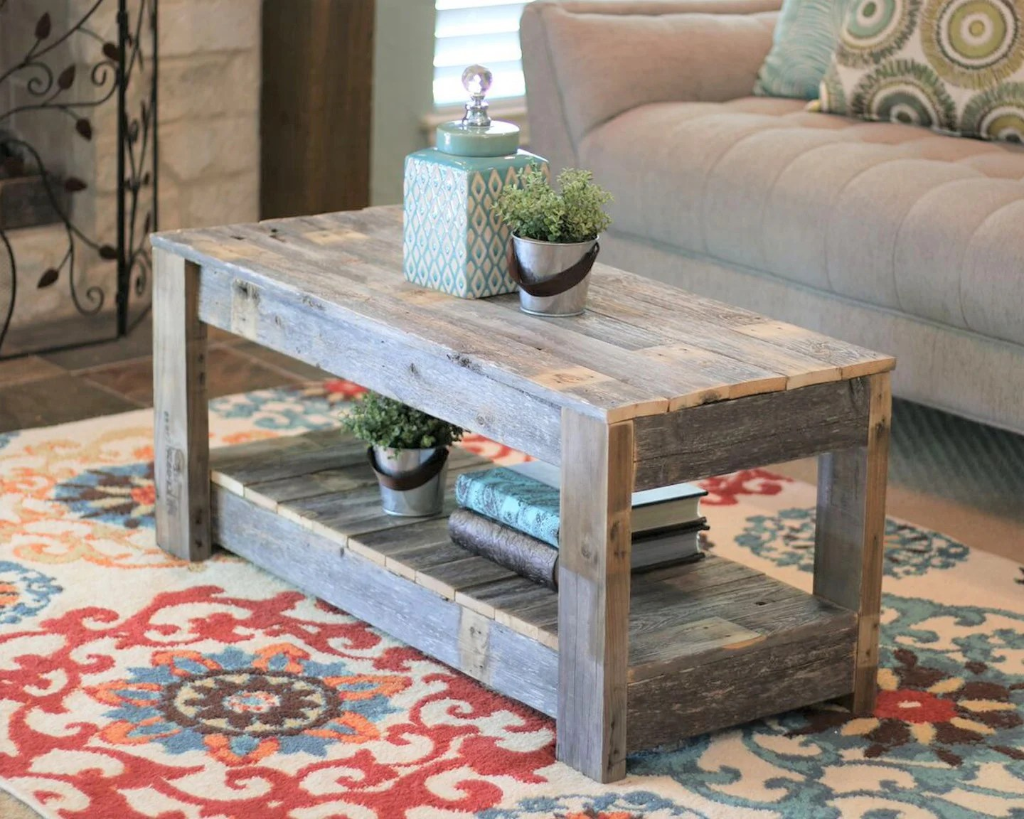 rustic coffee tables free shipping