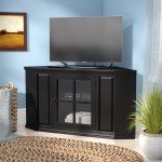 Charlton Home Tucci Corner Tv Stand For Tvs Up To 47 Reviews