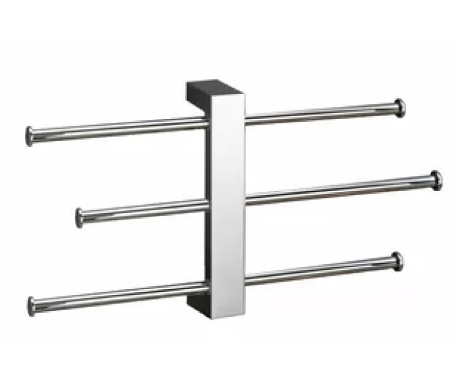 Bridge Sliding  Tier Wall Mounted Towel Rack