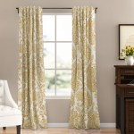 Yellow Gold Curtains Drapes You Ll Love In 2020 Wayfair