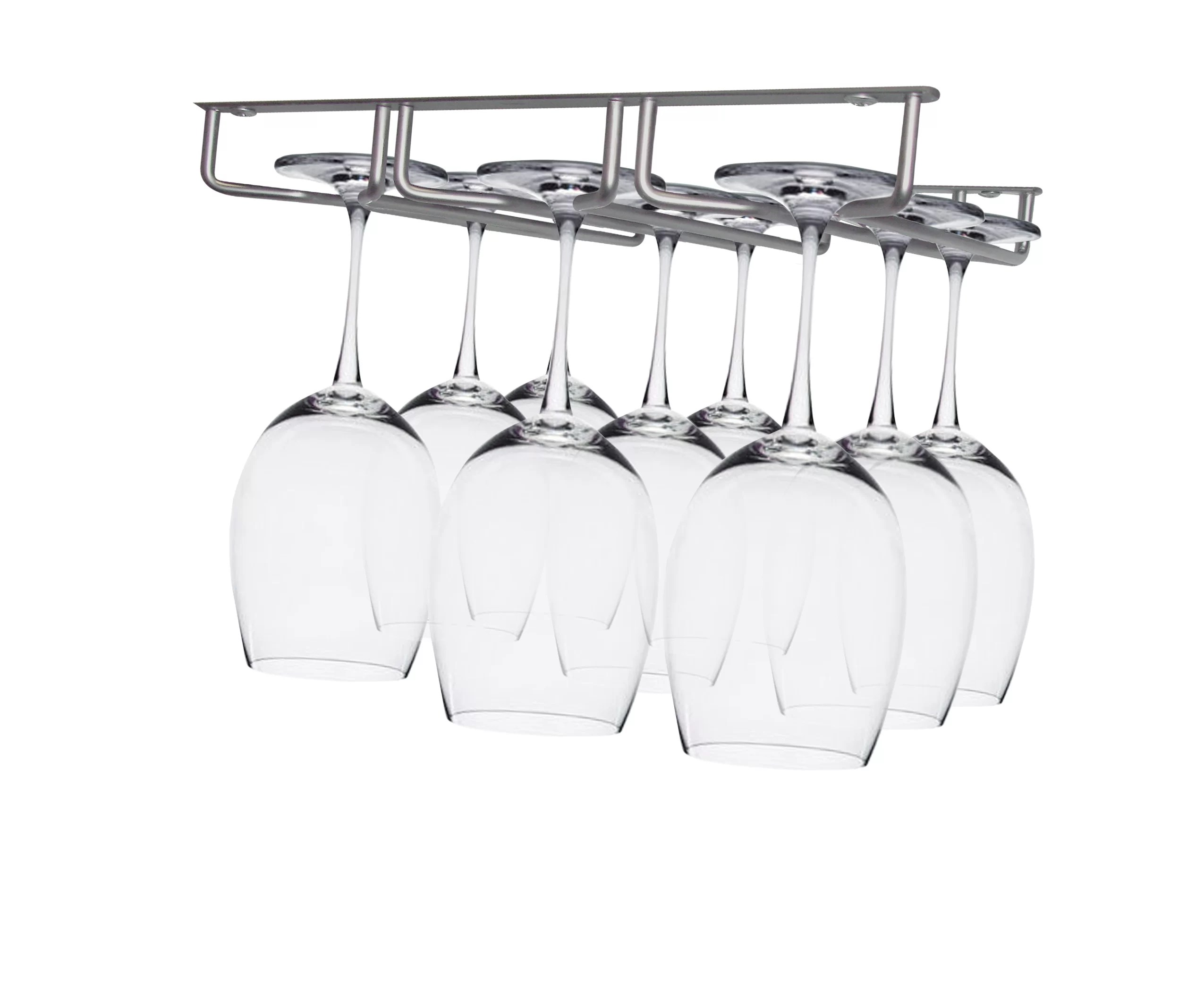 Epicureanist Sectional Hanging Wine Glass Rack Amp Reviews