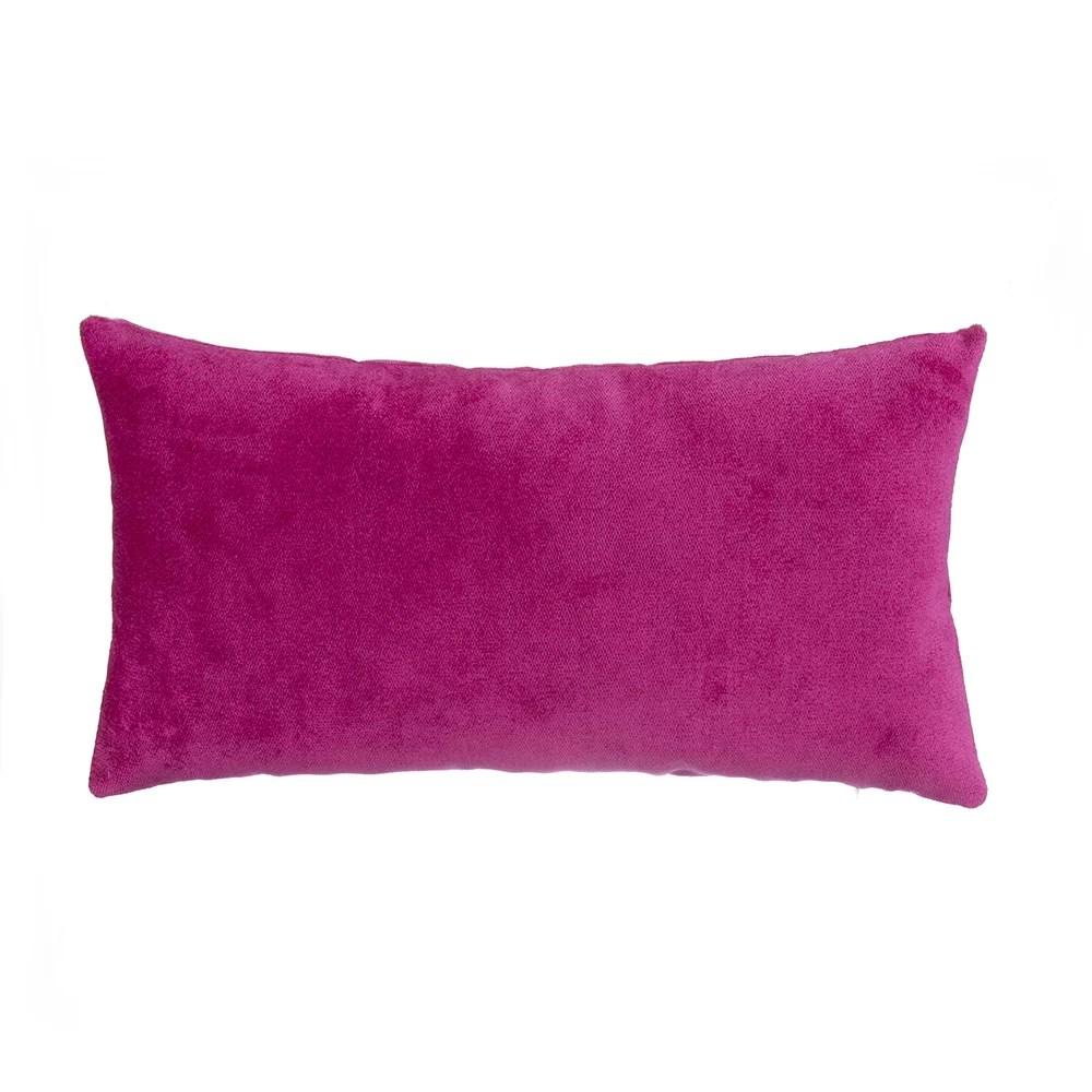 guice velvet lumbar pillow