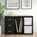 3 Drawer Storage Printer Stand Modern Mobile Lateral Filing Cabinet With 1 Door And 2 Tier Open Storage Shelves On Wheels For Home Office Study Bedroom Furniture File Cabinet White Lateral File Cabinets
