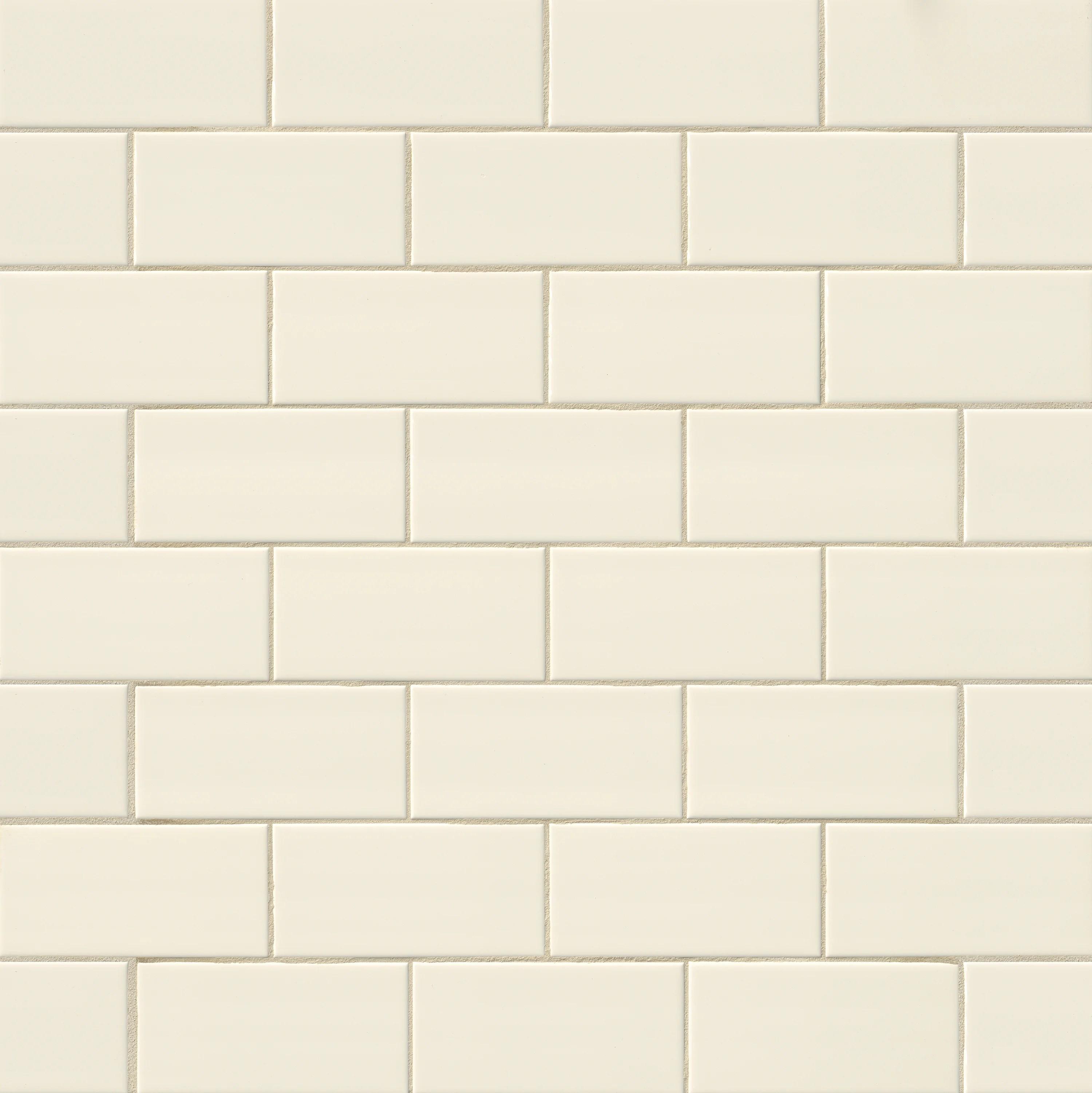beige tan subway floor tiles wall
