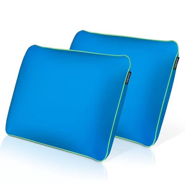 medium memory foam standard bed pillow