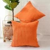 burnt orange throw pillows wayfair