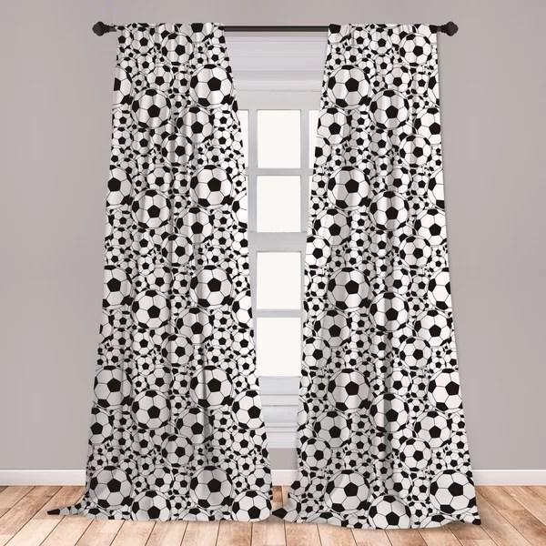 soccer curtains