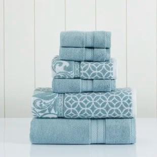 pilkington 6 piece 100 cotton towel set