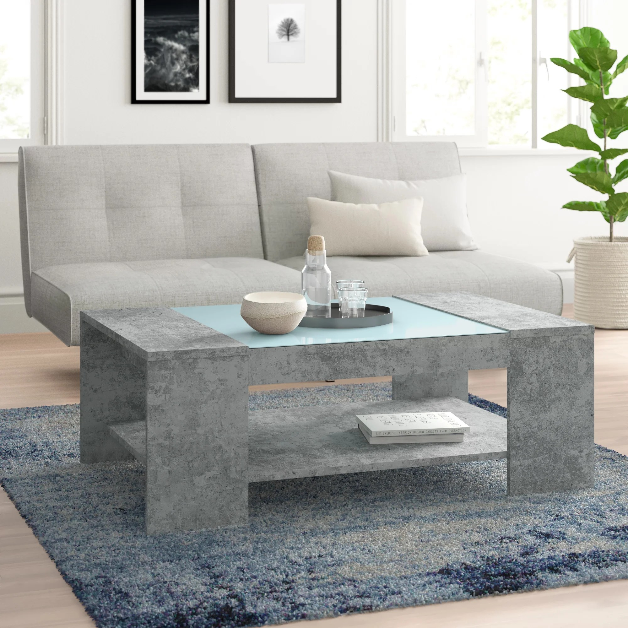glass coffee tables you ll love