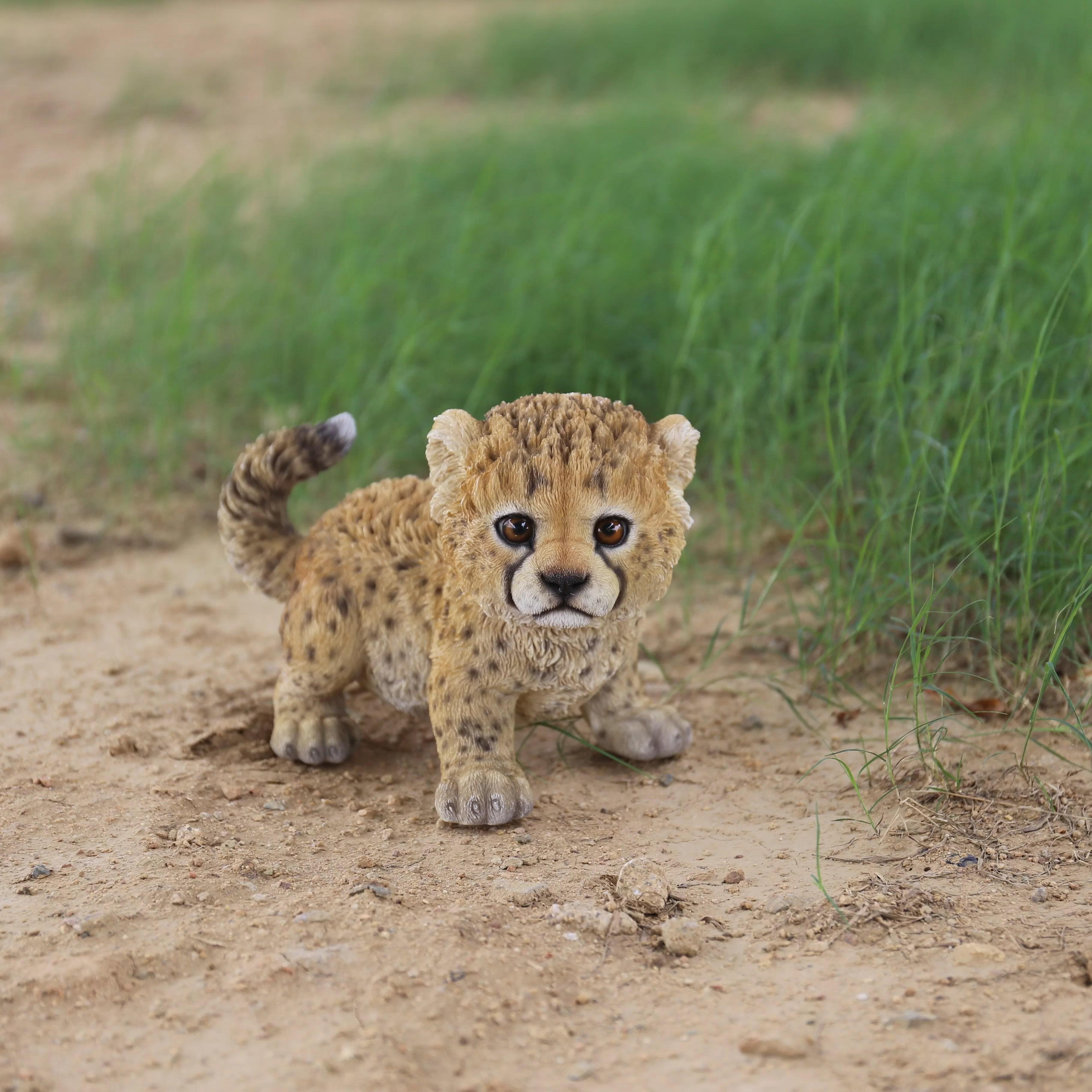 Hi Line T Ltd Baby Cheetah Statue Amp Reviews