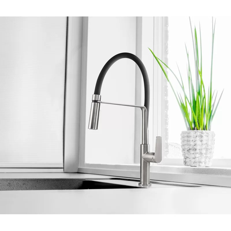 mythic pre rinse chef style kitchen faucet