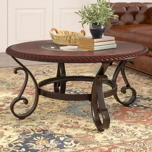 round coffee tables you'll love | wayfair