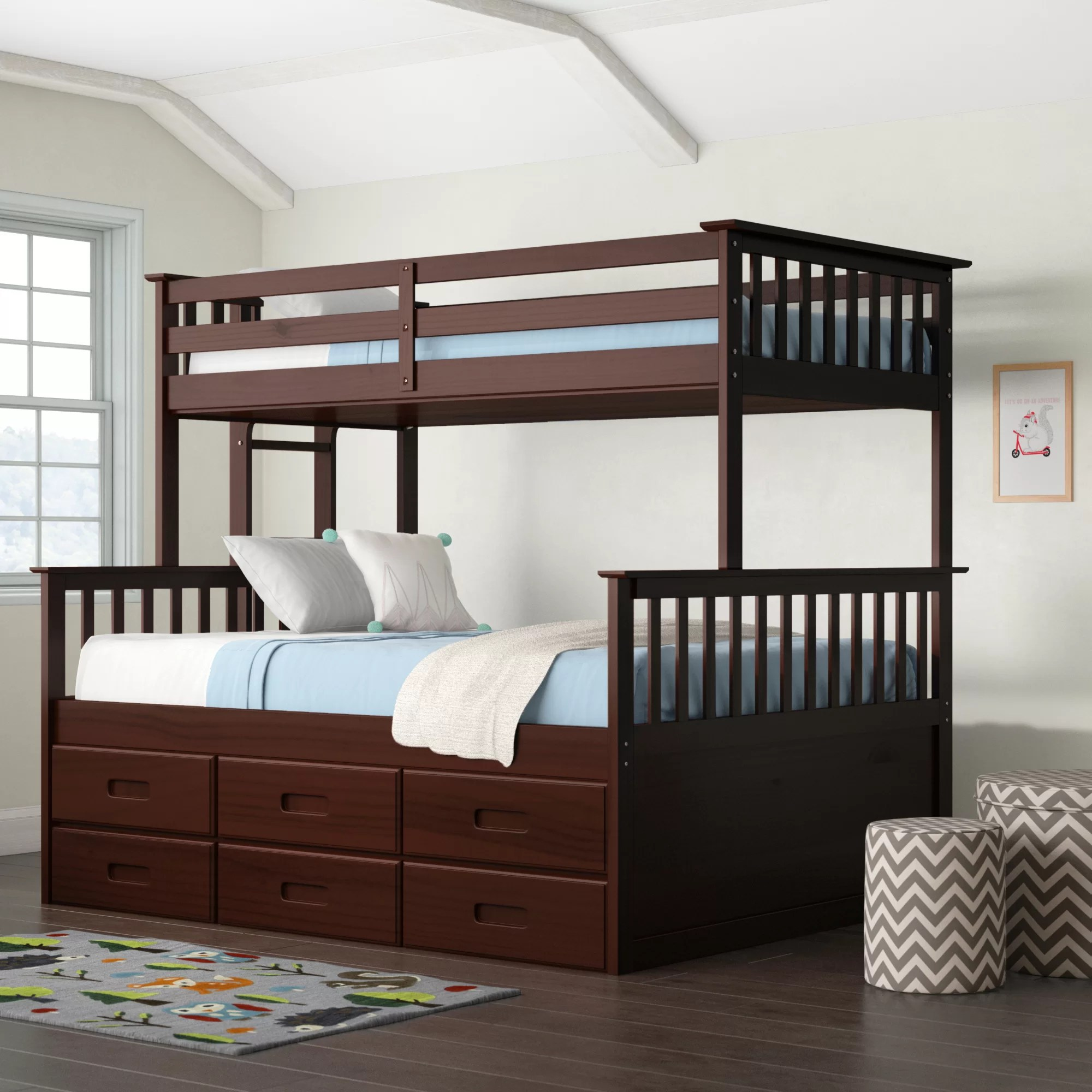 Bunk Full Kids Beds You Ll Love In 2020 Wayfair