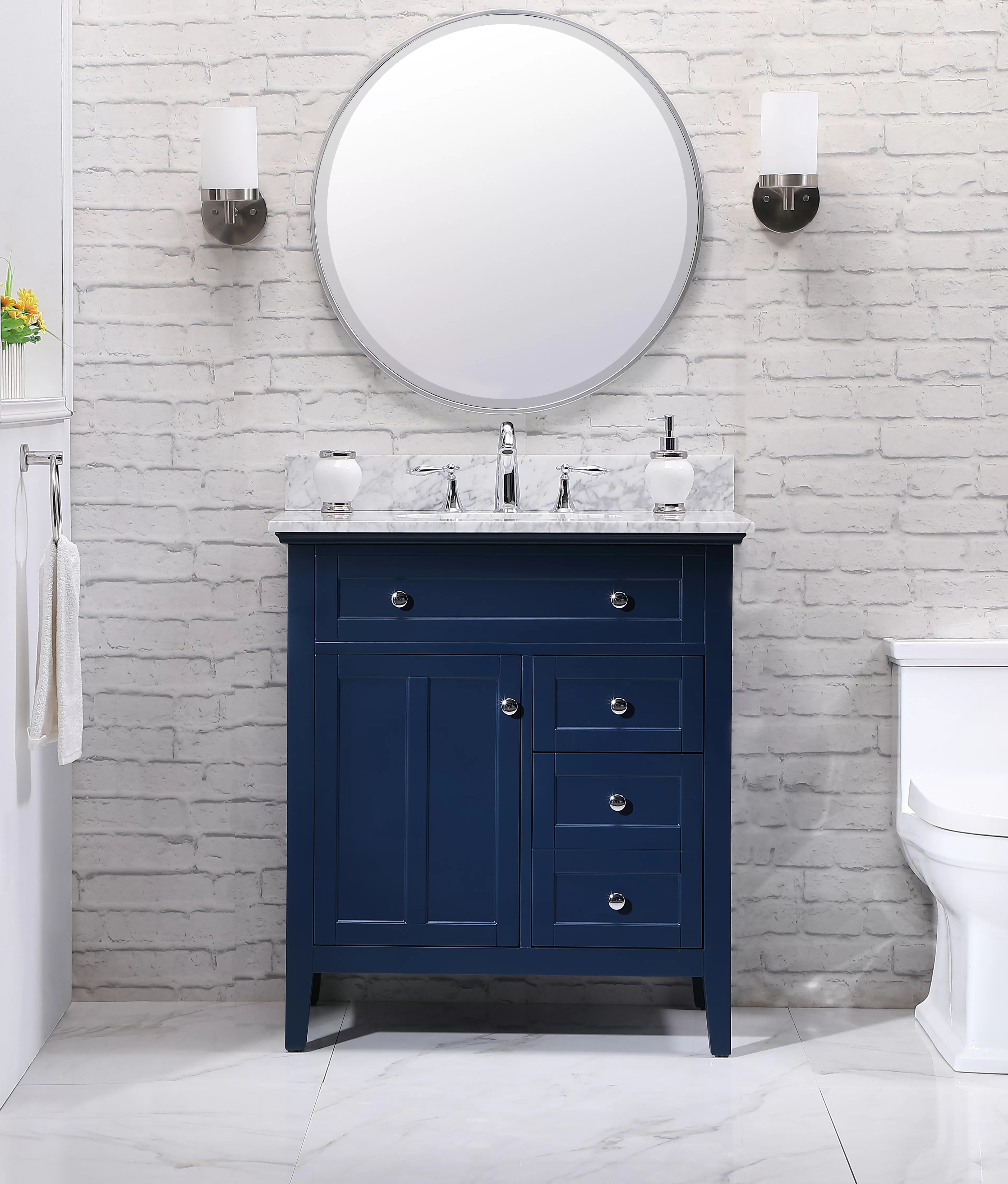 Andover Mills Waut 32 Single Bathroom Vanity Set Reviews