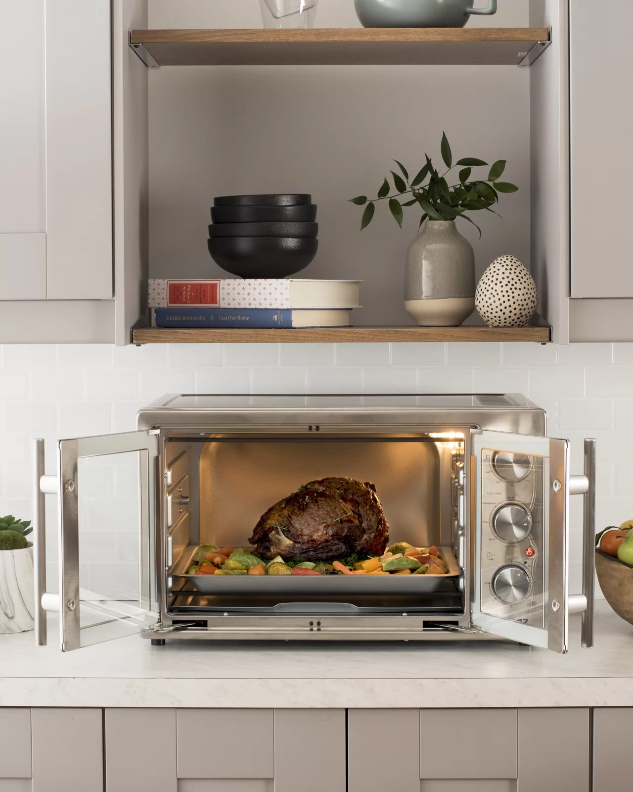 galanz french door air fryer toaster oven
